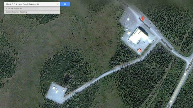 Antennenanlage HAARP, Alaska (USA) ©Google, COMPUTER BILD