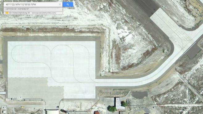 Dugway Proving Ground, Utah (USA) ©Google, COMPUTER BILD