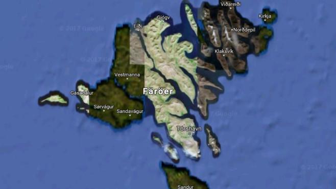 Färöer-Inseln ©Google