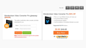 Wondershare Video Converter gratis © www.wondershare.com