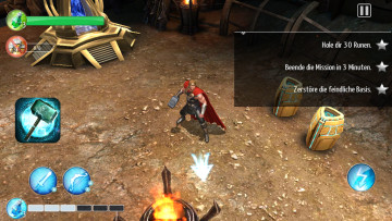 Thor – The Dark Kingdom © Gameloft