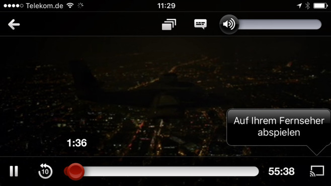 YouTube vom Smartphone auf den Fernseher streamen ©COMPUTER BILD