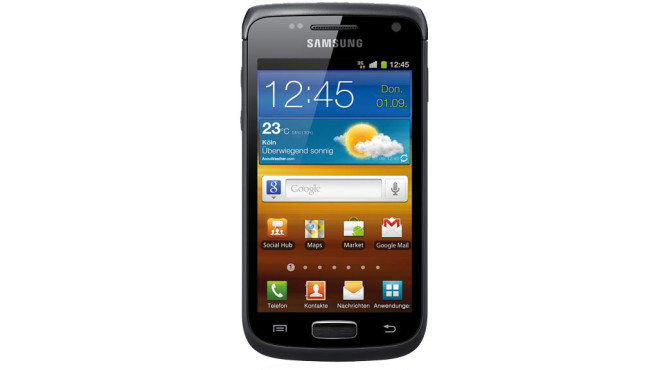 74 Prozent Ersparnis: Samsung Galaxy W ©Samsung