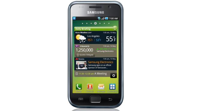 78 Prozent Ersparnis: Samsung Galaxy S i9000 ©Samsung