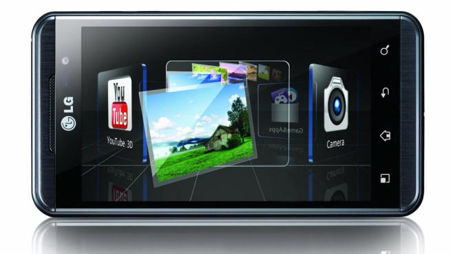 80 Prozent Ersparnis: LG P920 Optimus 3D ©LG