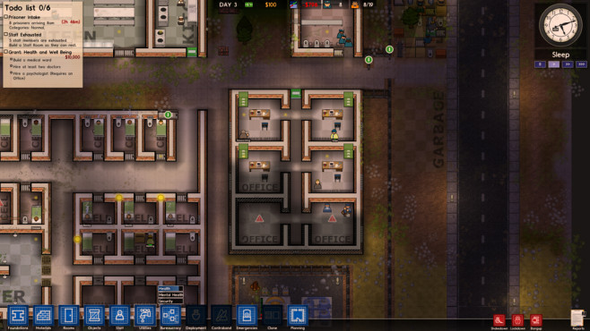Prison Architect: Nachtschicht © Introversion Software