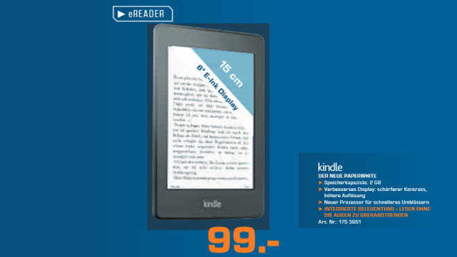 Kindle Paperwhite © Saturn