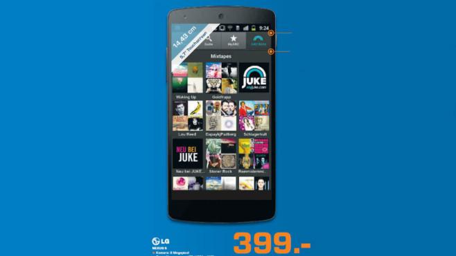 LG Nexus 5 ©Saturn