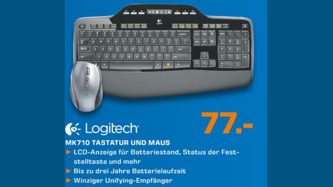 Logitech MK710 Tastatur und Maus ©Saturn