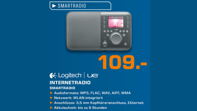 Logitech UE Smartradio © Saturn