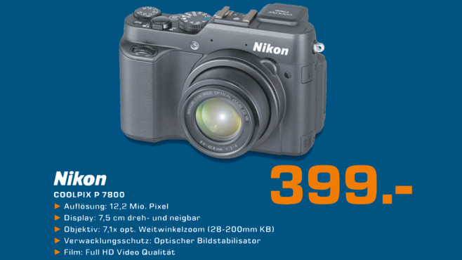 Nikon Coolpix P 7800 © Saturn