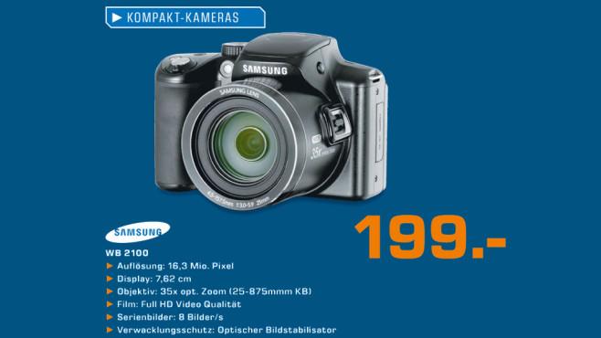 Samsung WB 2100 ©Saturn