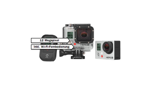 GoPro HERO3 Black Edition Adventure © Media Markt