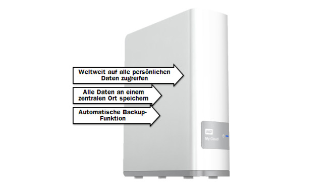 Western Digital My Cloud 2TB © Media Markt