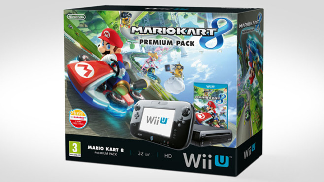mario kart 8 wii u bundle angek ndigt computer bild spiele. Black Bedroom Furniture Sets. Home Design Ideas