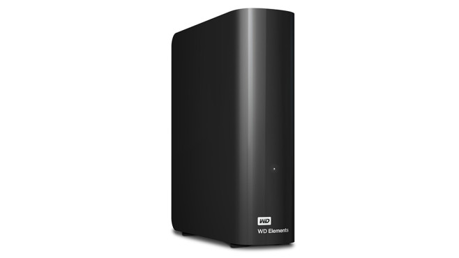 Western Digital Elements Desktop 4TB © Western Digital