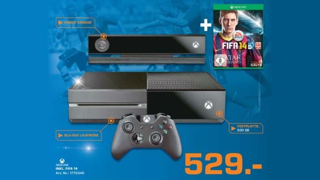 Microsoft Xbox One 500GB + FIFA 14 ©Saturn