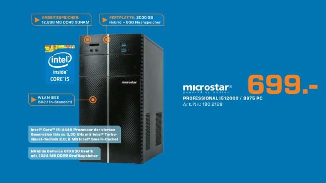 Microstar Professional I512000/8975 ©Saturn