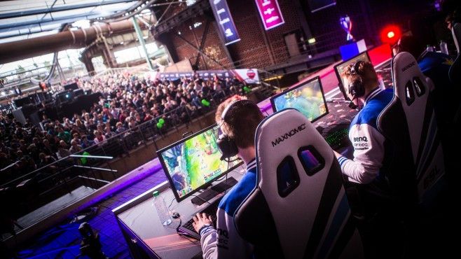 ESL Meisterschaft: League of Legends © ESL