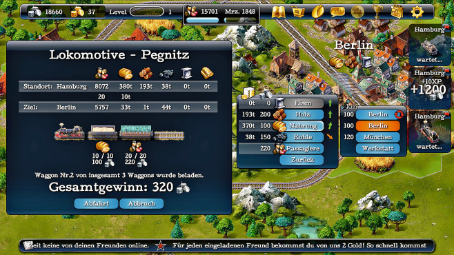 Steampower 1830 © Hexagon Game Labs