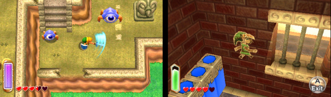 The Legend of Zelda – A Link Between Worlds © Nintendo