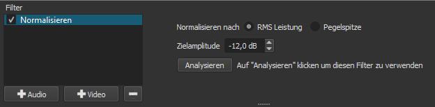 Videoclips mit Filter versehen und normalsieren ©COMPUTER BILD, Meltytech