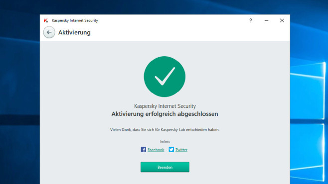 Kaspersky Internet Security 2016 © COMPUTER BILD
