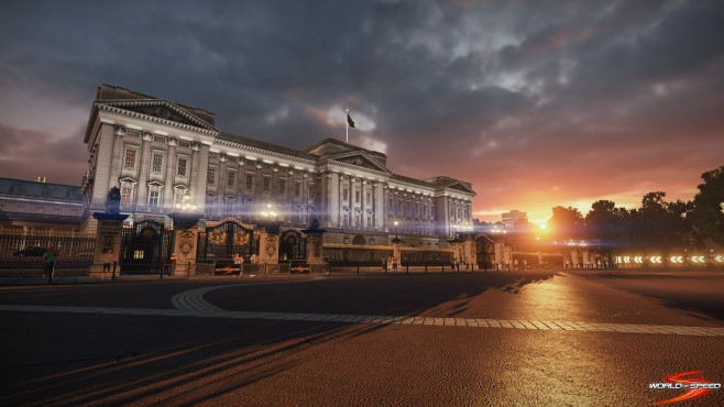 World of Speed: Brands Buckingham Palace © Slightly Mad Studios