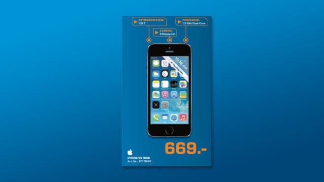 Apple iPhone 5S 16GB ©Saturn