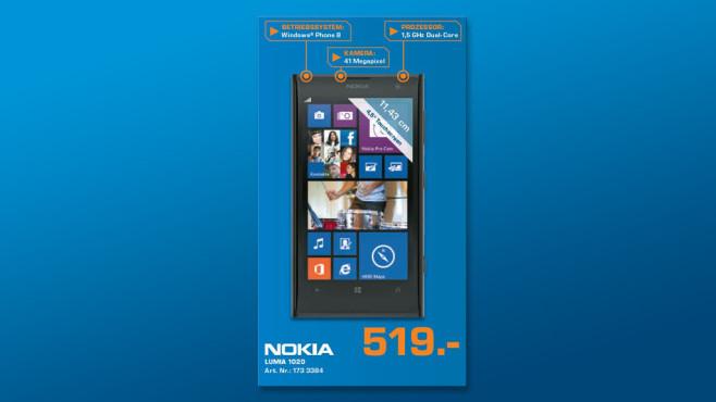 Nokia Lumia 1020 ©Saturn