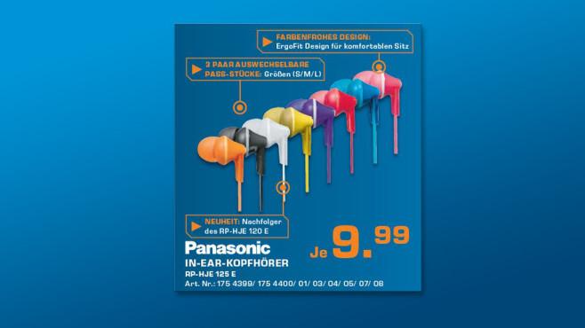Panasonic RP-HJE125E ©Saturn