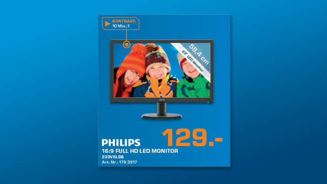 Philips 233V5LSB © Saturn