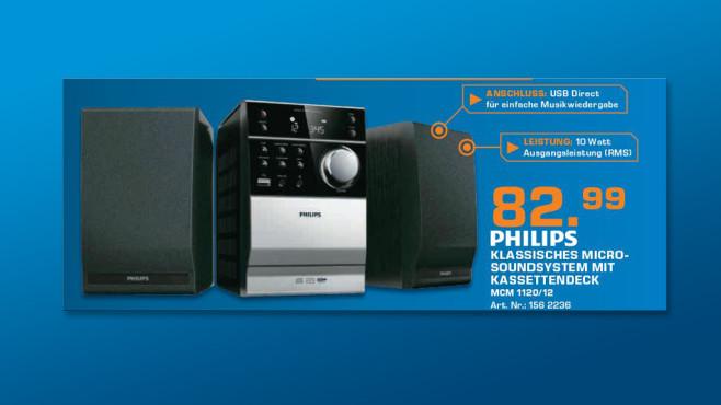 Philips MCM1120 ©Saturn