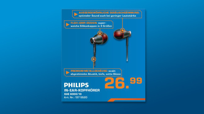 Philips SHE9000 ©Saturn