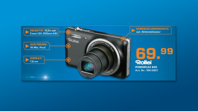 Rollei Powerflex 820 ©Saturn