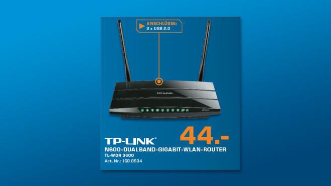 TP-LINK TL-WDR3600 ©Saturn