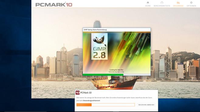 PCMark 10: Anwendungslast simulieen ©COMPUTER BILD