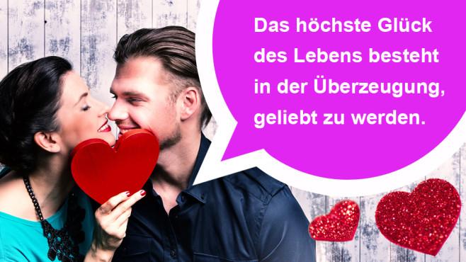 Die romantischsten WhatsApp-Sprüche zum Valentinstag ©drubig-photo - Fotolia.com, Victor Hugo