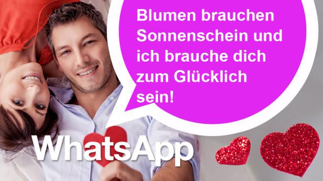 WhatsApp-Sprüche zum Valentinstag ©detailblick – Fotolia.com