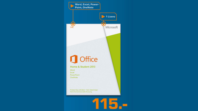 Microsoft Office 2013 Home and Student (DE) ©Saturn