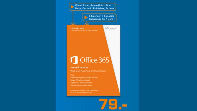 Microsoft Office 365 Home Premium (DE) ©Saturn