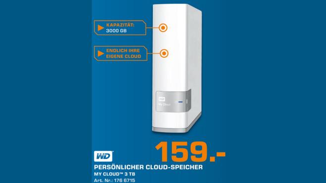 Western Digital My Cloud 3TB ©Saturn