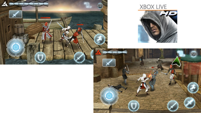 Assassin�s Creed � Altair's Chronicles HD © Gameloft