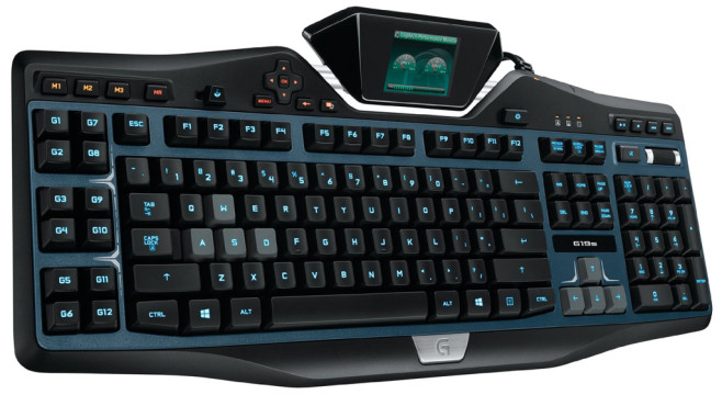 Logitech Gaming Keyboard G19 (s) © Logitech