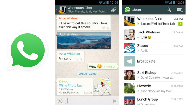 WhatsApp für Android © WhatsApp Inc., COMPUTER BILD