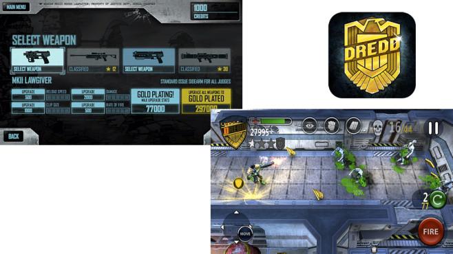 Judge Dredd vs Zombies ©Rebellion Games
