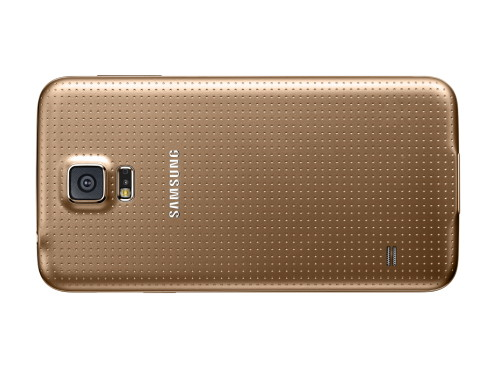 Samsung Galaxy S5 in Gold © Samsung