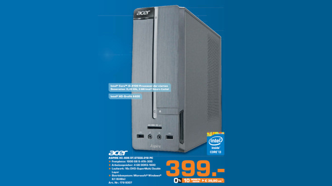 Acer Aspire XC-605 DT.STEEG.018 © Saturn