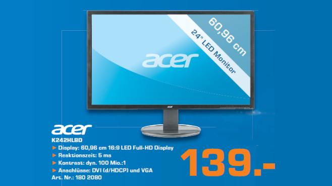 Acer K242HLBD ©Saturn
