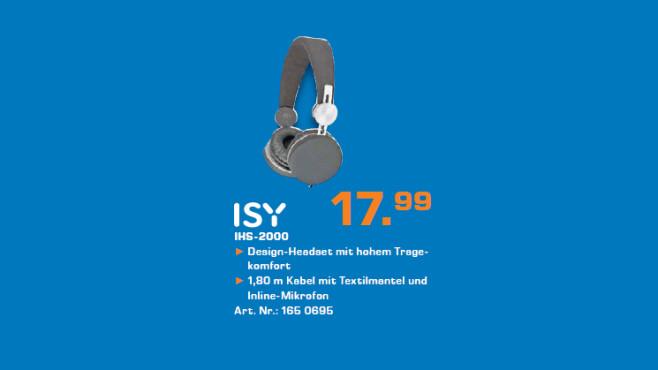 ISY IHS-2000 ©Saturn